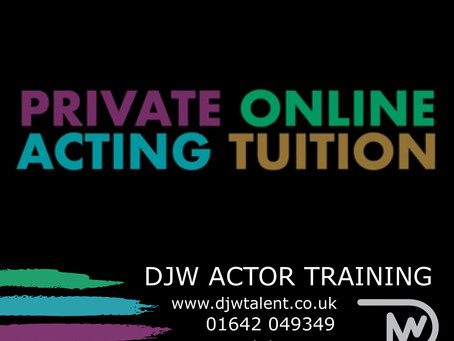 DJW PRIVATE ONLINE ACTING TUITION