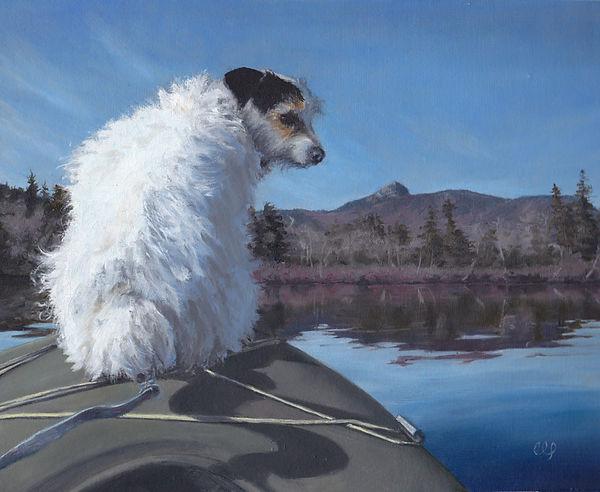 kayaking-with-chaz-dog-portrait