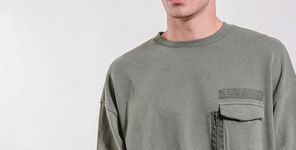 Zip Pocket Sweater