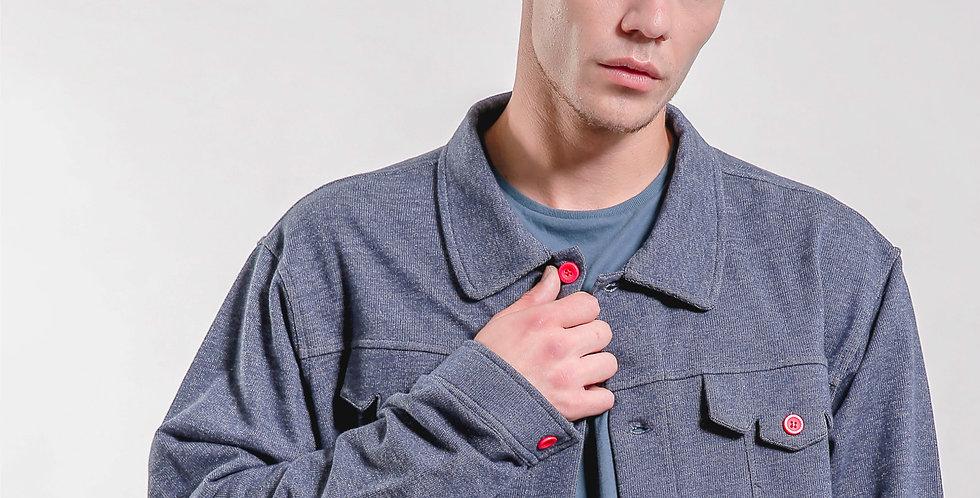 Knitted Denim Jacket