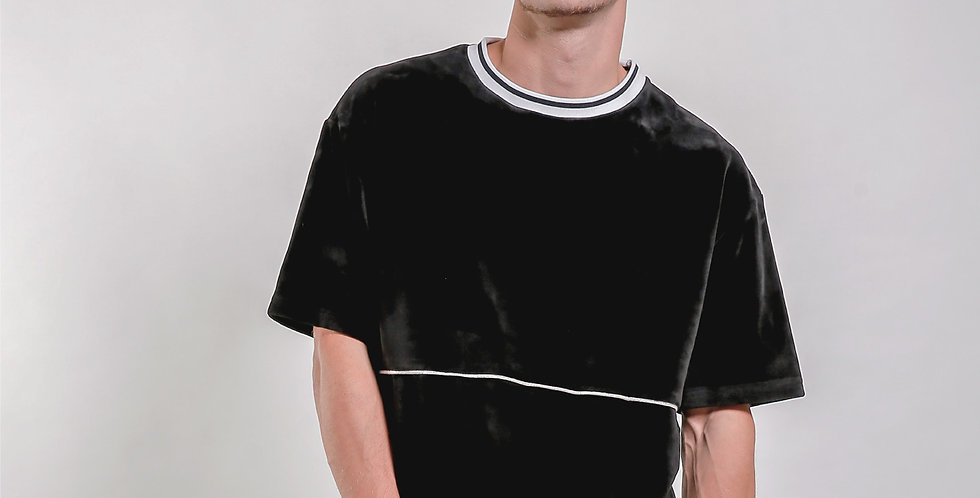 Velour Piping Tee