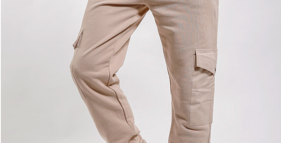 Cargo Pockets Skinny Joggers