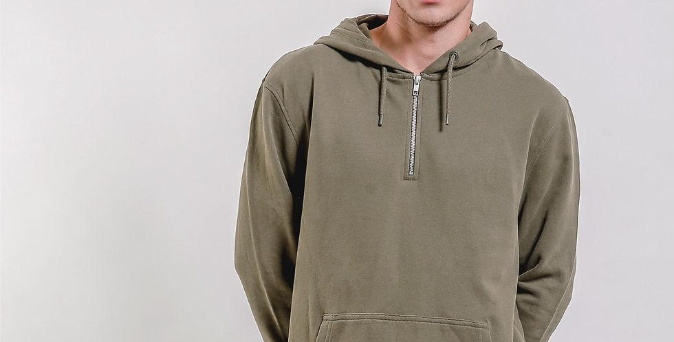 Half Zip Hood