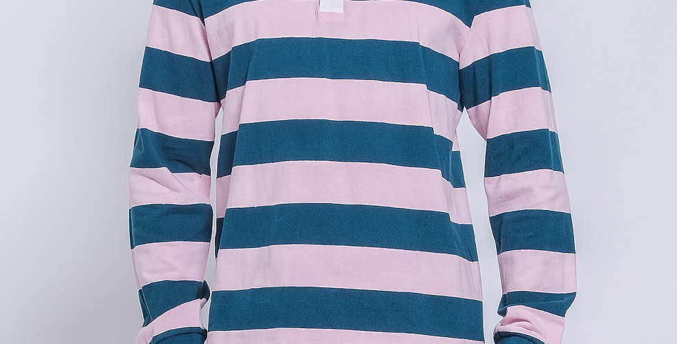 Cooper Stripes Rugby Polo