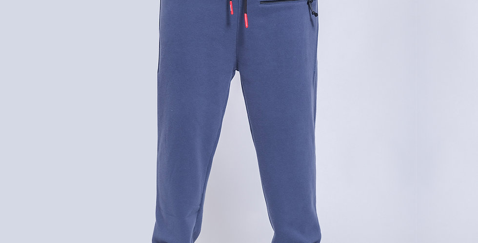 Front Zipper Pocket Sweatpants