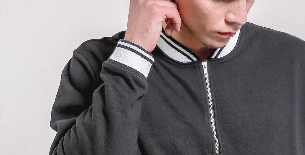Half Zip Collar Sweatshirt