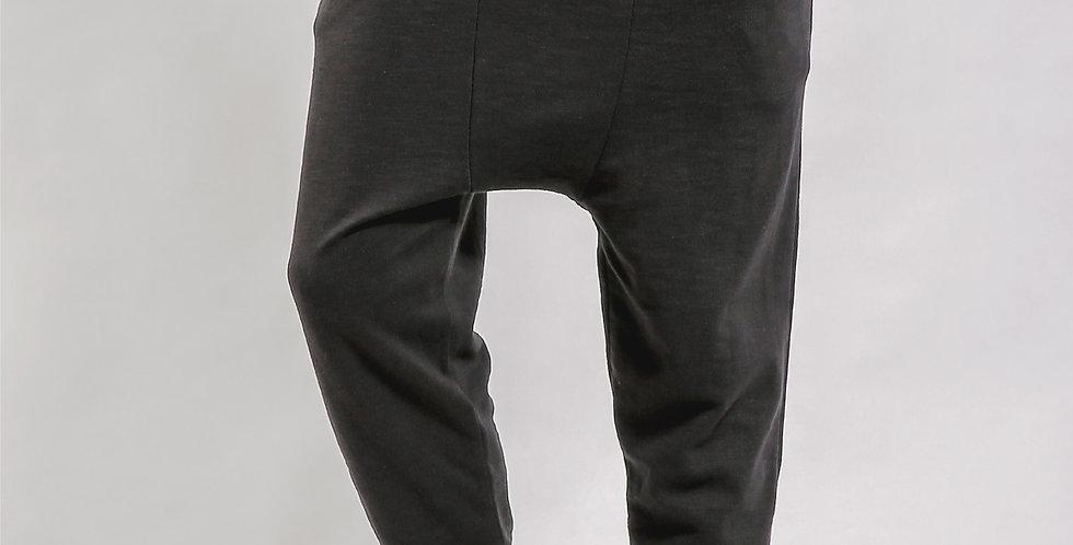 Low Rise Drop Crotch Track Pants