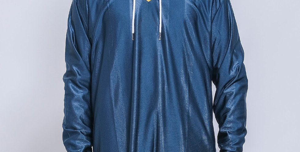 Sporty V-neck with Hood