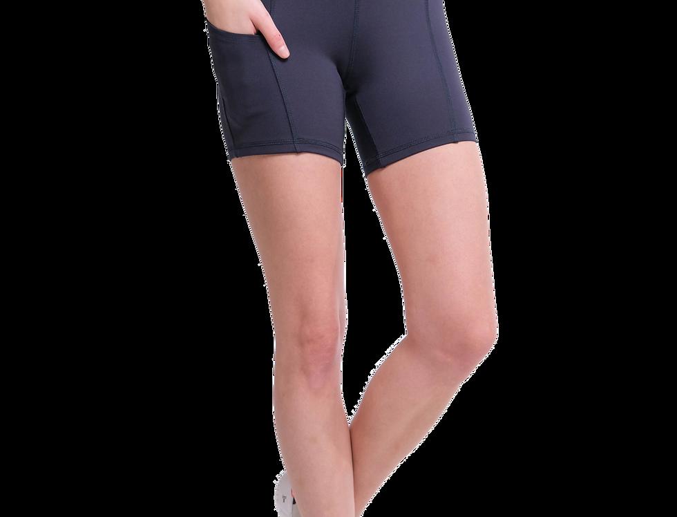 Super High Rise Side Pocket Legging Shorts
