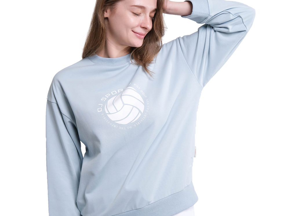 Relaxed Sweater (Baby Blue)