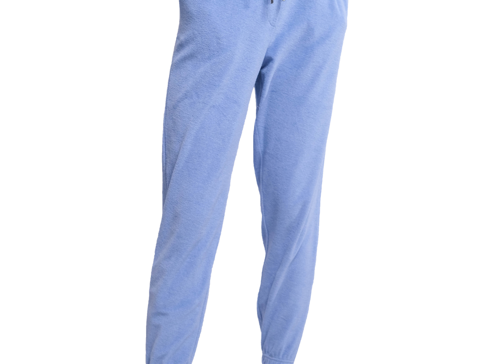Towelling Joggers (Blue)