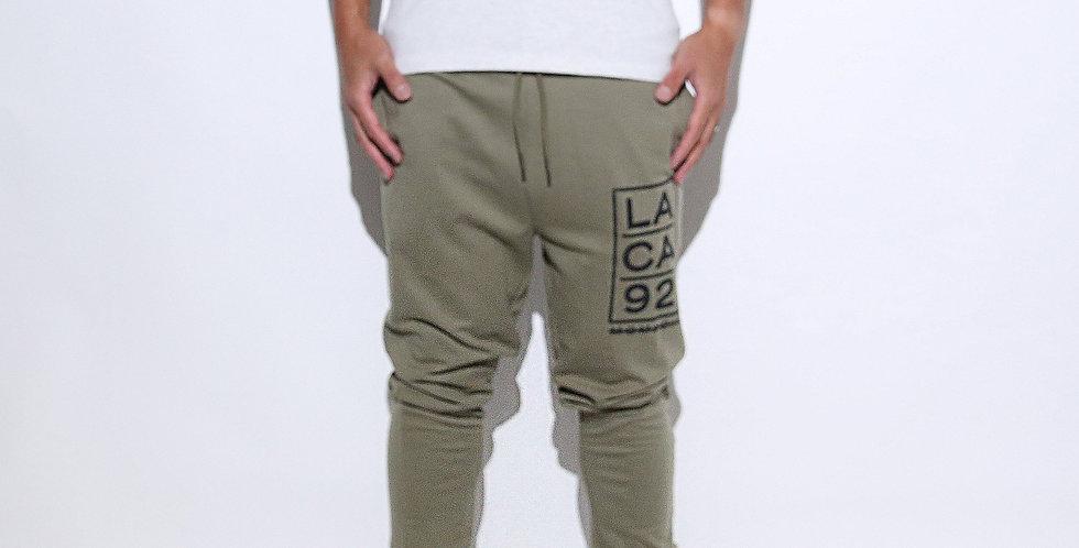 Greenary Printed Long Trousers