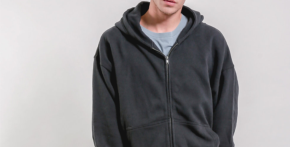 Large Bicep Zip Hood