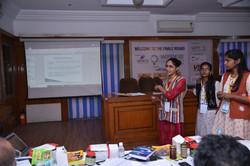 Participant giving Presentation