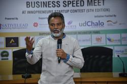 Nagraja Prakasham giving Speech