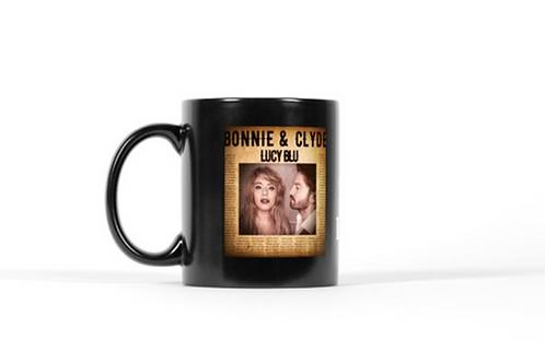 Bonnie & Clyde Artwork & Lyric Mug