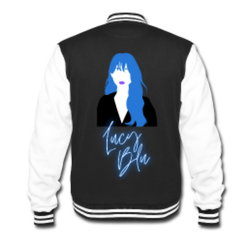 Lucy Blu Logo Varsity Jacket