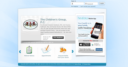 The Children's Group, PC