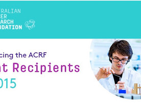 ACRF Grant Recipients