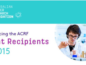 ACRF Grant Recipients