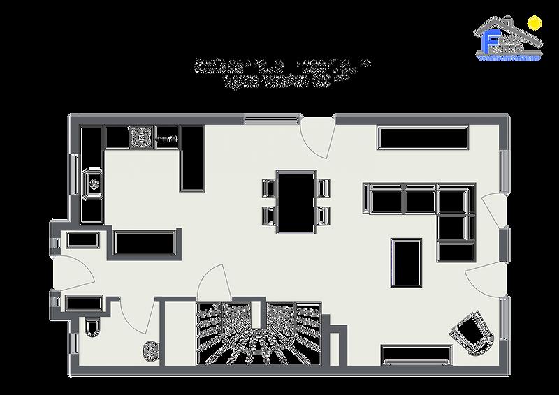 Reetdachhaus Friesentraum - Erdgeschoss_
