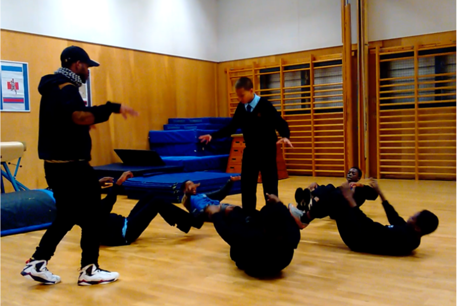 Boys Dance and Mentoring