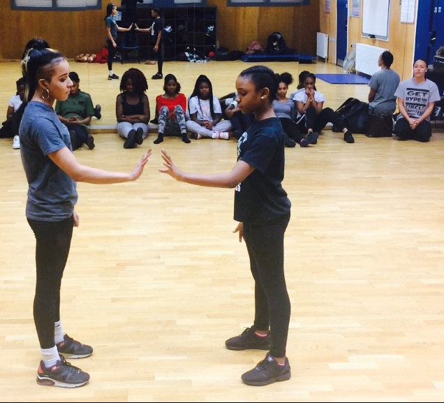 Girls Dance and Mentoring
