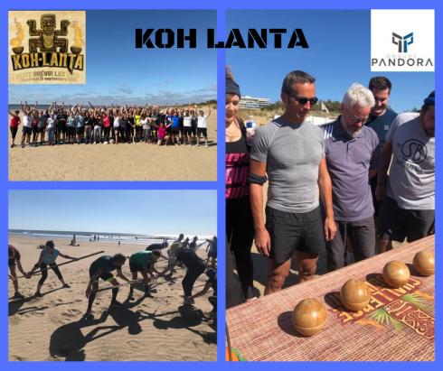 Aventure KOH LANTA pour les équipes d'Ody-C