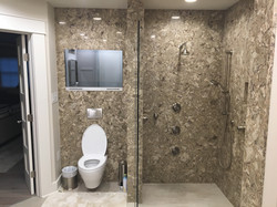 Cambria Shower Wall