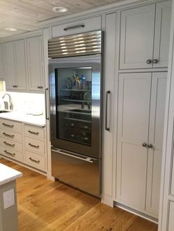 refrigerator wall cabinet
