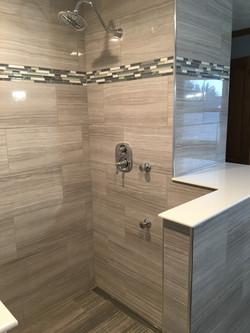 tile shower design