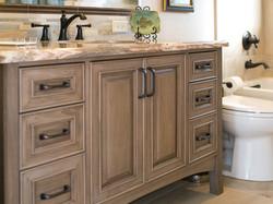 6' vanity cabinet