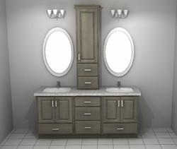 Vanity Design Rendering