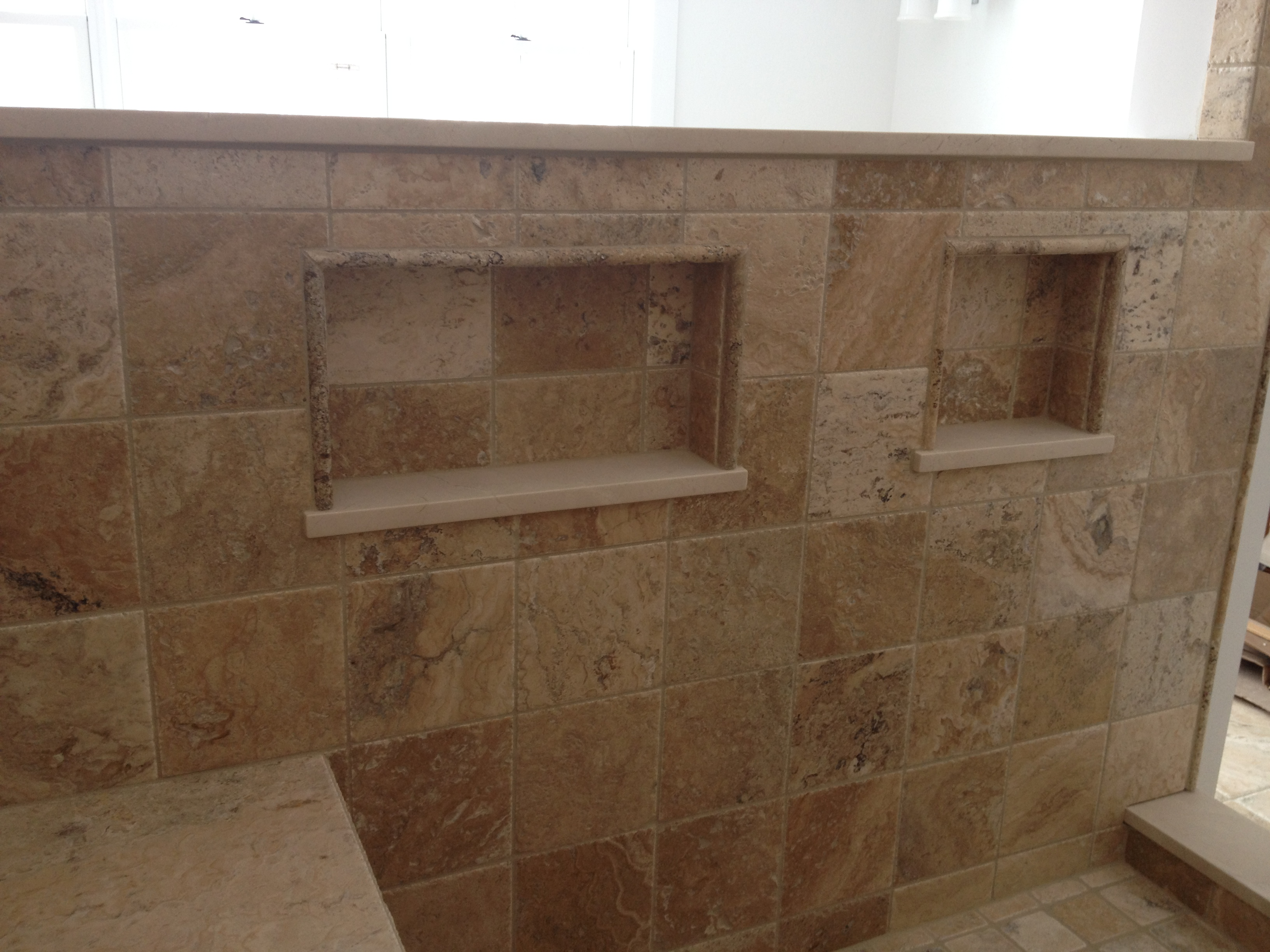 Recessed Shower Shelving