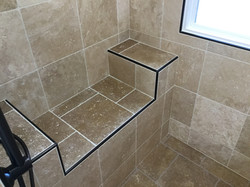 shower bench seat