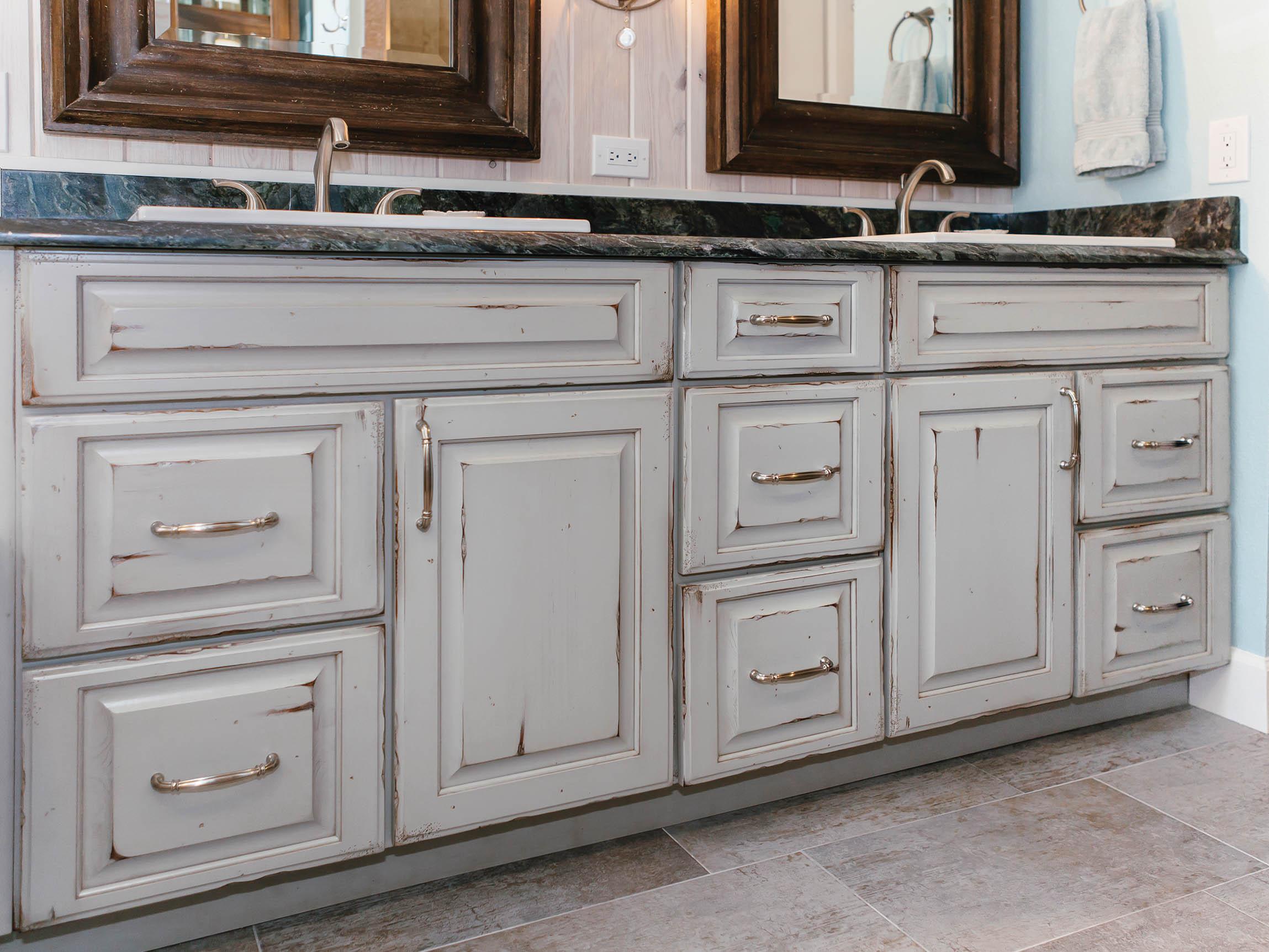 Old World Vanity Cabinet