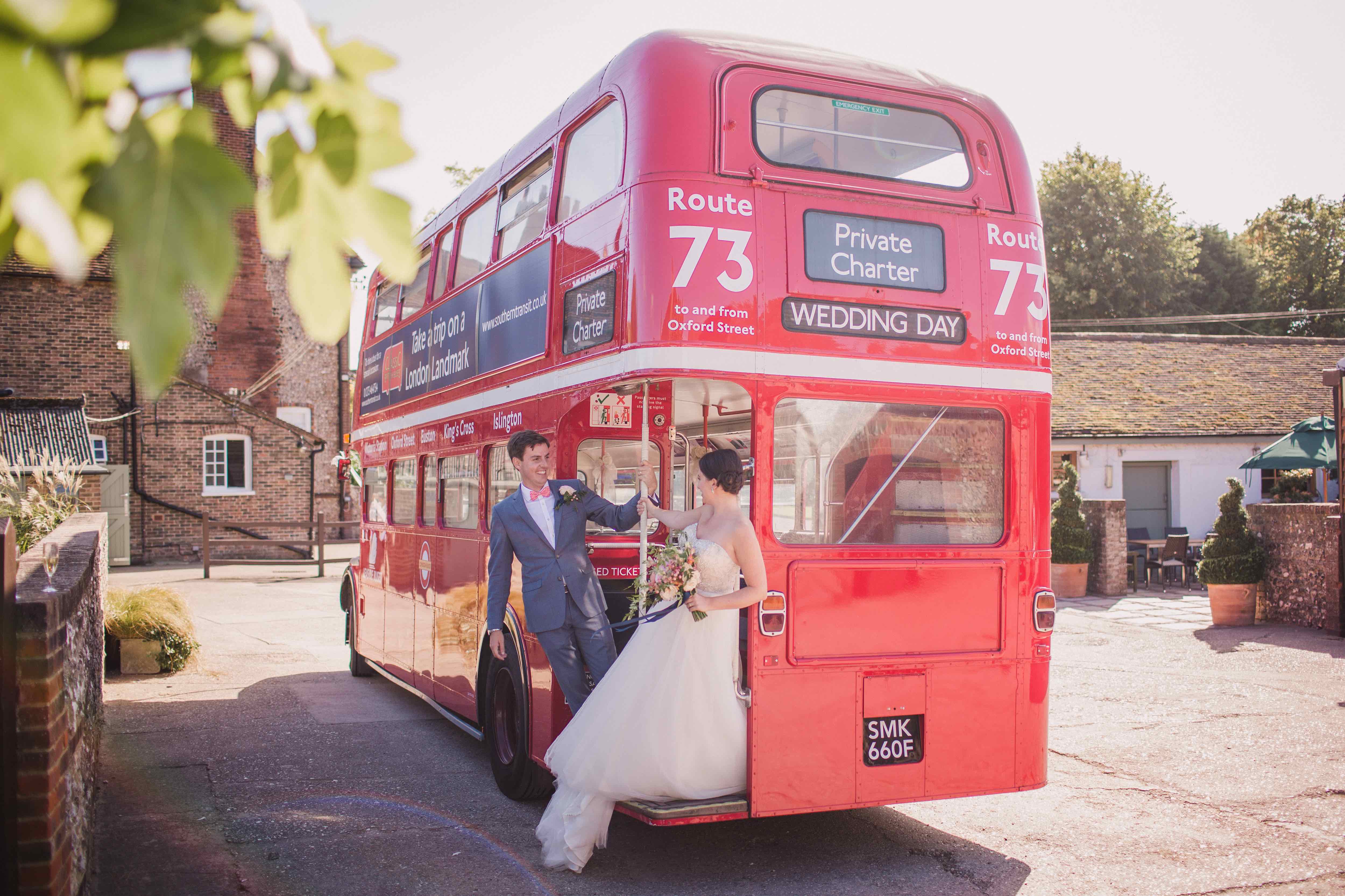 Farm weddings at Pangdean in Sussex