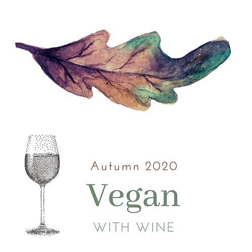VEGAN menu + PAIRED WINE