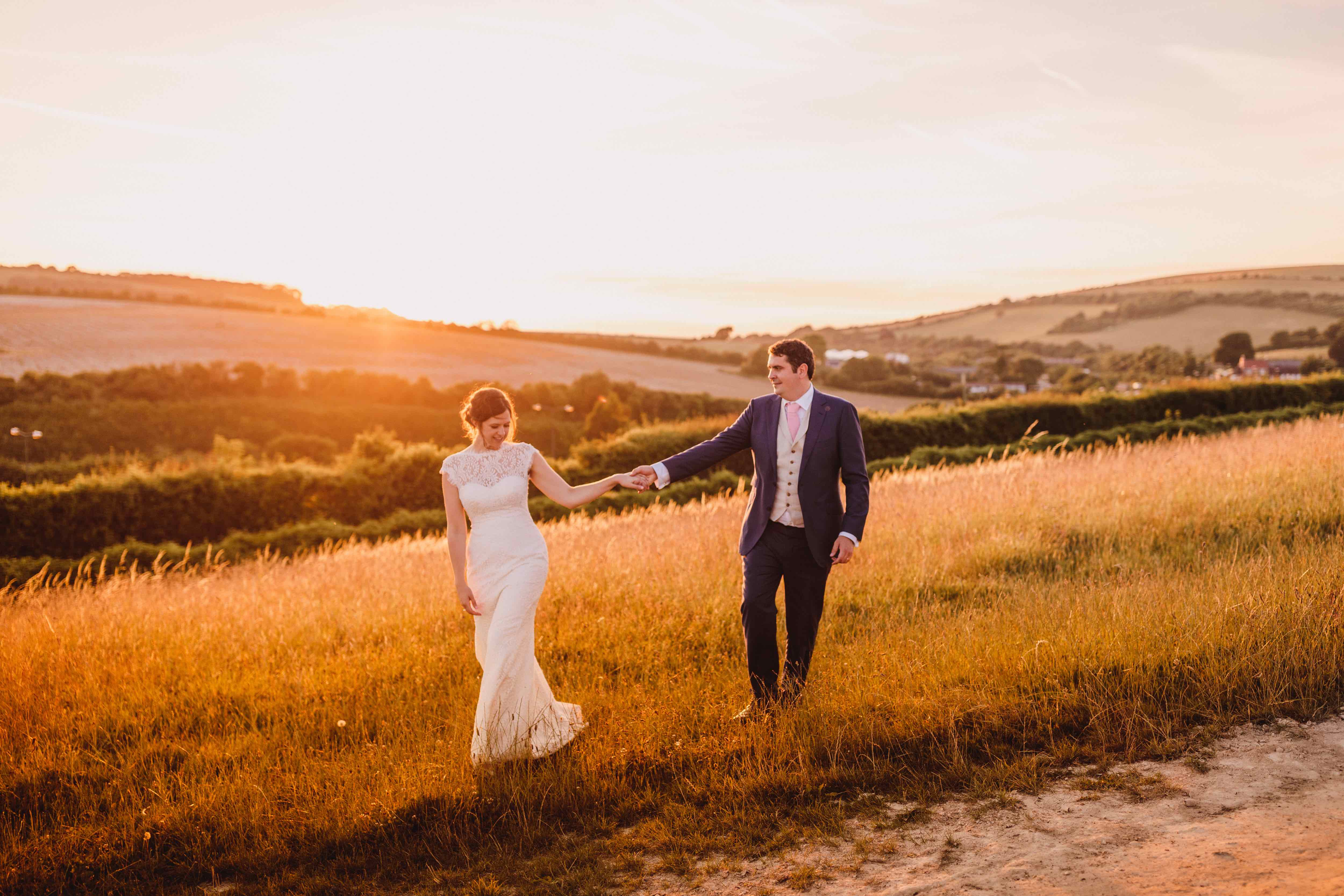 Farm weddings at Pangdean Old Barn