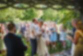 Garden ceremonies at Pangdean Old Barn in Sussex