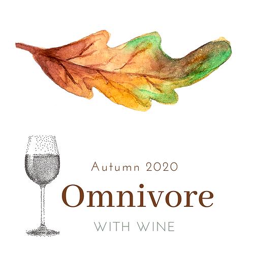 OMNIVORE menu + PAIRED WINE