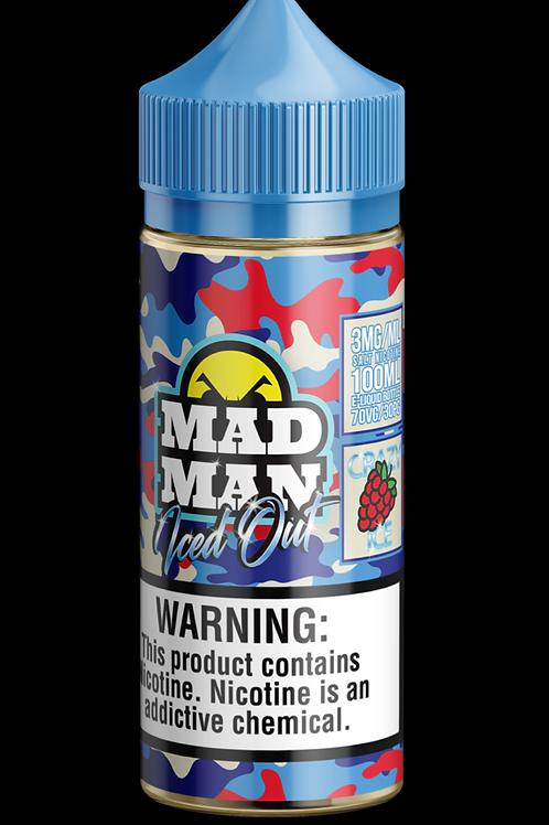 MAD MAN CRAZY RASPBERRY ICE