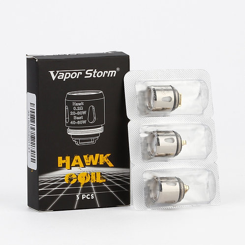 VAPOR STORM HAWK COILS (PACK 3)