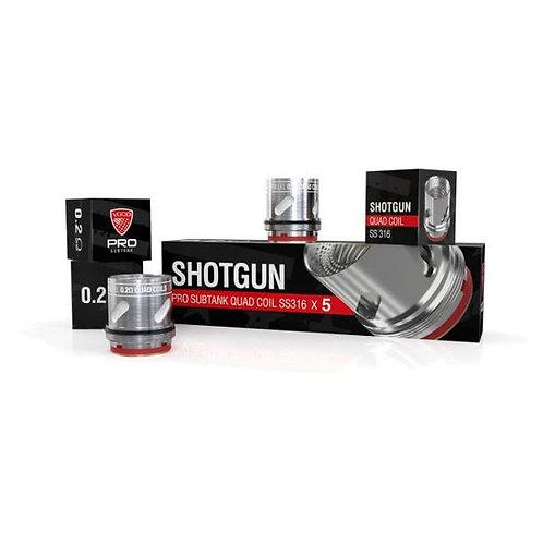 VGOD - Shotgun Pro Subtank Quad Coil SS316 - 5 Pack