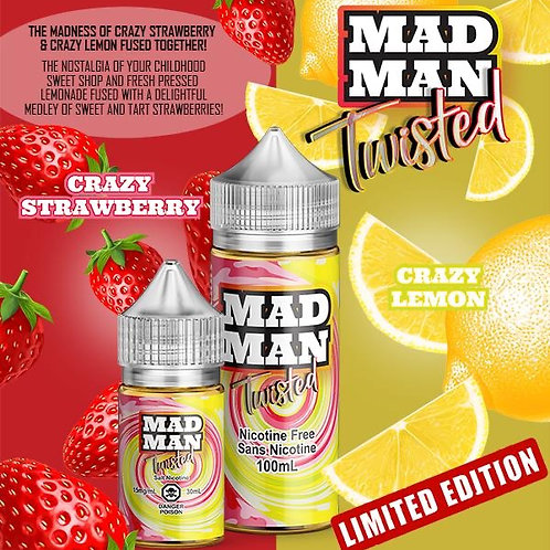 MAD MAN CRAZY TWISTED