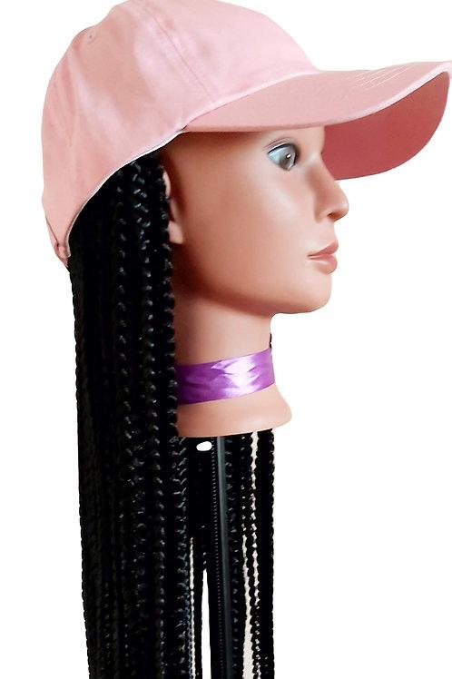 That Hat & Braids Wig