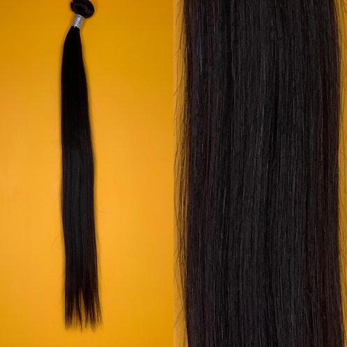 Natural Black Straight Human Hair (18'-28')