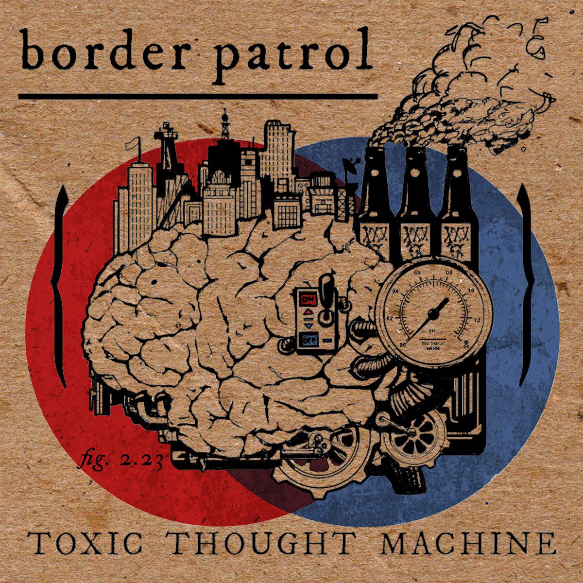 Border Patrol - Toxic Thought Machine