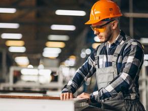 Trabalhos que exigem óculos de segurança