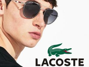 Os famosos óculos Lacoste